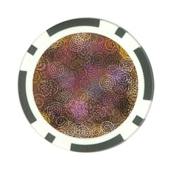 2000 Spirals Many Colorful Spirals Poker Chip Card Guard (10 Pack) by Nexatart