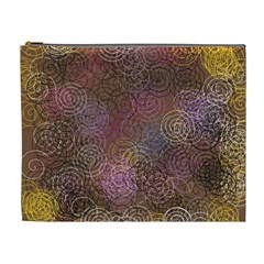2000 Spirals Many Colorful Spirals Cosmetic Bag (xl)