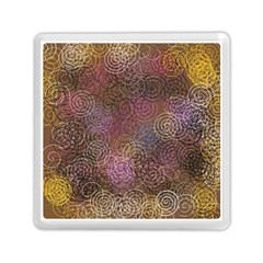2000 Spirals Many Colorful Spirals Memory Card Reader (square)  by Nexatart