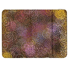2000 Spirals Many Colorful Spirals Samsung Galaxy Tab 7  P1000 Flip Case by Nexatart