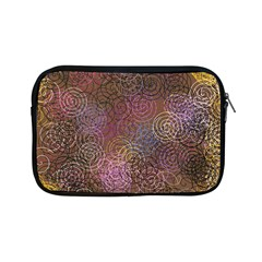 2000 Spirals Many Colorful Spirals Apple Ipad Mini Zipper Cases by Nexatart