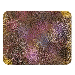 2000 Spirals Many Colorful Spirals Double Sided Flano Blanket (large)  by Nexatart