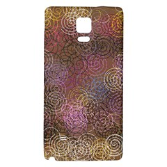 2000 Spirals Many Colorful Spirals Galaxy Note 4 Back Case