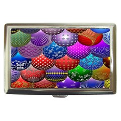 Fun Balls Pattern Colorful And Ornamental Balls Pattern Background Cigarette Money Cases by Nexatart