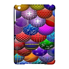 Fun Balls Pattern Colorful And Ornamental Balls Pattern Background Apple Ipad Mini Hardshell Case (compatible With Smart Cover)