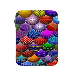 Fun Balls Pattern Colorful And Ornamental Balls Pattern Background Apple Ipad 2/3/4 Protective Soft Cases by Nexatart