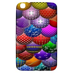 Fun Balls Pattern Colorful And Ornamental Balls Pattern Background Samsung Galaxy Tab 3 (8 ) T3100 Hardshell Case