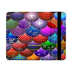 Fun Balls Pattern Colorful And Ornamental Balls Pattern Background Samsung Galaxy Tab Pro 8 4  Flip Case by Nexatart