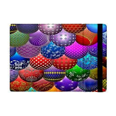 Fun Balls Pattern Colorful And Ornamental Balls Pattern Background Ipad Mini 2 Flip Cases by Nexatart