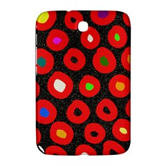 Polka Dot Texture Digitally Created Abstract Polka Dot Design Samsung Galaxy Note 8 0 N5100 Hardshell Case  by Nexatart