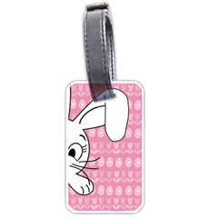 Easter Bunny  Luggage Tags (one Side)  by Valentinaart