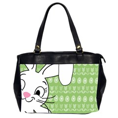 Easter Bunny  Office Handbags (2 Sides)  by Valentinaart