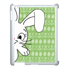 Easter Bunny  Apple Ipad 3/4 Case (white)