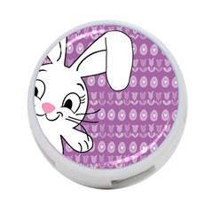 Easter Bunny  4-port Usb Hub (two Sides)  by Valentinaart