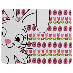 Easter Bunny  Jigsaw Puzzle Photo Stand (rectangular)