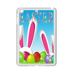 Easter Bunny  Ipad Mini 2 Enamel Coated Cases by Valentinaart