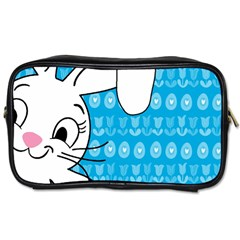 Easter Bunny  Toiletries Bags 2 Side by Valentinaart