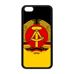 Flag Of East Germany Apple Iphone 5c Seamless Case (black) by abbeyz71