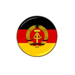 Flag Of East Germany Hat Clip Ball Marker by abbeyz71