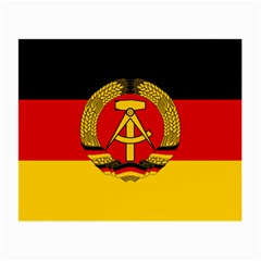 Flag Of East Germany Small Glasses Cloth (2-side) by abbeyz71
