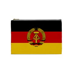 Flag Of East Germany Cosmetic Bag (medium)  by abbeyz71