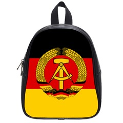 Flag Of East Germany School Bags (small)  by abbeyz71