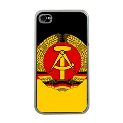 Flag Of East Germany Apple Iphone 4 Case (clear) by abbeyz71