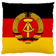 Flag Of East Germany Large Cushion Case (one Side) by abbeyz71