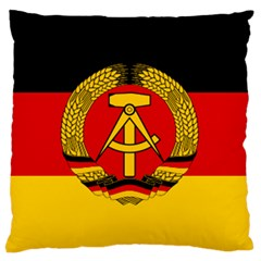 Flag Of East Germany Standard Flano Cushion Case (two Sides) by abbeyz71