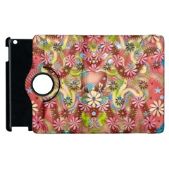 Jungle Life And Paradise Apples Apple Ipad 2 Flip 360 Case by pepitasart