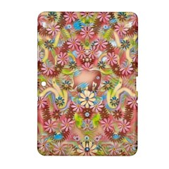 Jungle Life And Paradise Apples Samsung Galaxy Tab 2 (10 1 ) P5100 Hardshell Case  by pepitasart