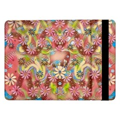 Jungle Life And Paradise Apples Samsung Galaxy Tab Pro 12 2  Flip Case by pepitasart