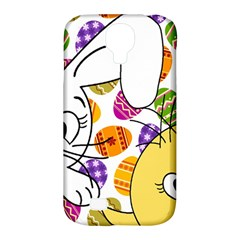 Easter Bunny And Chick  Samsung Galaxy S4 Classic Hardshell Case (pc+silicone) by Valentinaart