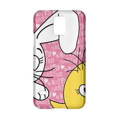 Easter Bunny And Chick  Samsung Galaxy S5 Hardshell Case  by Valentinaart