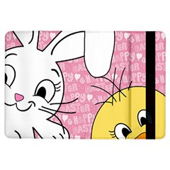 Easter Bunny And Chick  Ipad Air Flip by Valentinaart