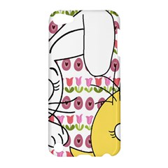 Easter Bunny And Chick  Apple Ipod Touch 5 Hardshell Case by Valentinaart