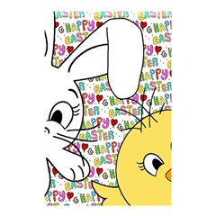 Easter Bunny And Chick  Shower Curtain 48  X 72  (small)  by Valentinaart