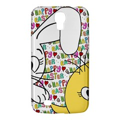 Easter Bunny And Chick  Samsung Galaxy Mega 6 3  I9200 Hardshell Case