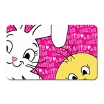 Easter bunny and chick  Magnet (Rectangular) Front