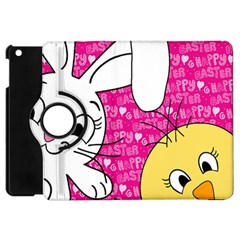 Easter Bunny And Chick  Apple Ipad Mini Flip 360 Case