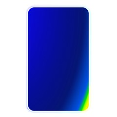 Blue Wallpaper With Rainbow Memory Card Reader by Nexatart