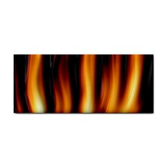 Dark Flame Pattern Cosmetic Storage Cases by Nexatart