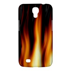 Dark Flame Pattern Samsung Galaxy Mega 6 3  I9200 Hardshell Case by Nexatart