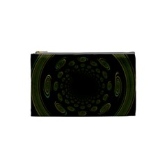 Dark Portal Fractal Esque Background Cosmetic Bag (small)