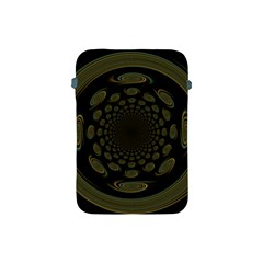 Dark Portal Fractal Esque Background Apple Ipad Mini Protective Soft Cases by Nexatart