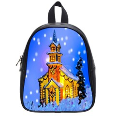Winter Church School Bags (small)  by Nexatart