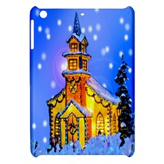 Winter Church Apple Ipad Mini Hardshell Case by Nexatart