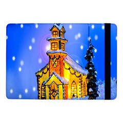 Winter Church Samsung Galaxy Tab Pro 10 1  Flip Case by Nexatart
