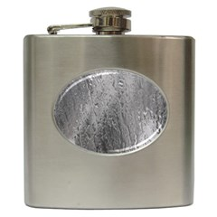 Water Drops Hip Flask (6 Oz) by Nexatart