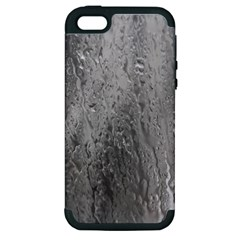 Water Drops Apple Iphone 5 Hardshell Case (pc+silicone) by Nexatart